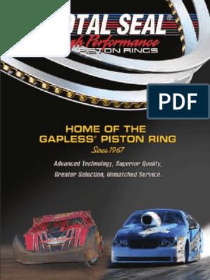 Piston Ring for Ford Mazda Kia Probe 626 Sportage 2.2 2.0 L SOHC SIZE STD