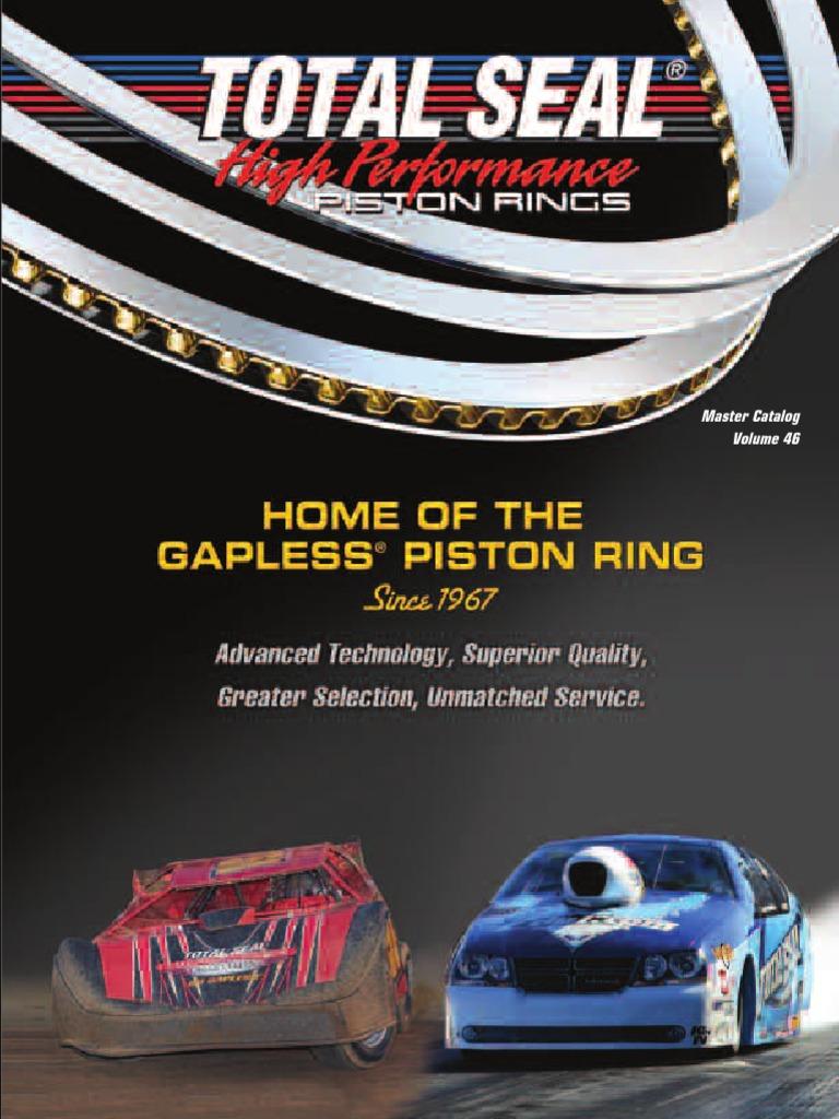 JE Pistons J100F8-4070-5 Premium Race Series Piston Rings Kit 4.070 in Bore