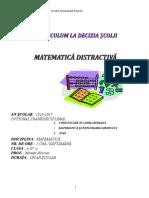 Matematica Distractiva Optional Suport Curs (1)