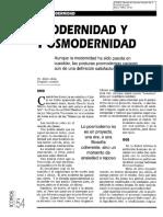 07. Posmodernidad. Modernidad y Posmodernidad. Abdón Ubidia.pdf