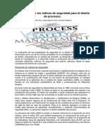 Una revisión de los índices de seguridad para el diseño de procesos.docx
