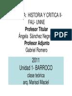 1 Clase Barroco