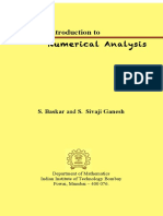 Reference book for numerical analysis