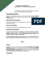 TALLER DE APLICACIÓN No
