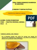 Dcho Del Trabajo Diapositivas Gloria Huaman