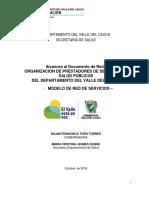 Modelo de Red de Servicios Valle Del Cauca