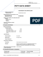 Safety datasheet