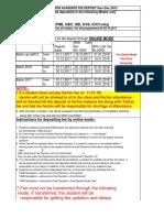 Consolidate Fee Schedule 2017 18