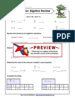 Basic Algebra8