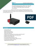 WL-M100 Modem Brochure