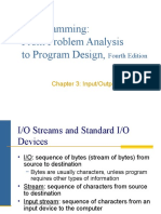 C++ Programming:	From Problem Analysis to Program Design, Fourth Edition (Chapter 3