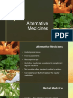 Alternative Medicines.pptx