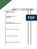 Item Analysis Excel Sample