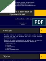Análise Matricial - Viga Contínua