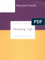 Shaping Life Genes Embryos and Evolution Darwinism