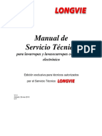 longvie candy Manual de Servicio Técnico