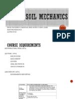 Ce 111- Soil Mechanics