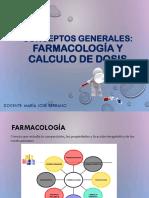 01 Conceptos Generales Farmacología