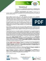 Resolución 1160 Del 22 de Abril de 2019 - Apertura de Sede IE La Presentacion - Riosucio