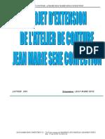 Projet Couture Jean Marie Sene Confection