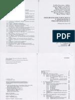 Bassedas y Cols( 1998) Intervención Educativa y Diagnóstico Psicopeagógico Buenos Aires Paidós Cap 2, 3 y 4