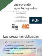 Liderazgo Incluyente - The Wo+Men Project UIA