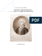 Antropología y Educación en el pensamiento y la obra de Jovellanos
