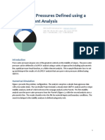 Pore-Water Pressures Defined Using a Finite Element Analysis