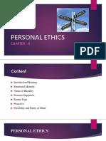 Personal Ethics Chap 2