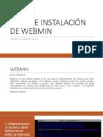 Guía de Instalación de Webmin