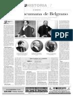 La hija tucumana de Belgrano por Carlos Páez de la Torre