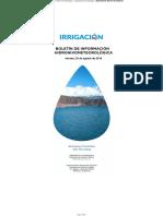 Boletín de Información Hidronivometeorológica 23-08-19