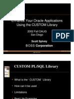Custom Library Presentation