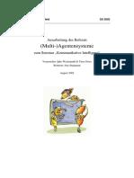 Seminararbeit Multiagentensysteme