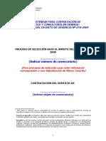 02-Bases Para Servicios y Consultoria en General - Menor Cuantia