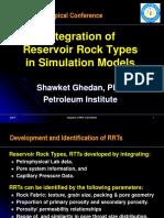 Integrated Reservoir modeling