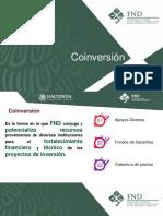 Coinversión SADER FND