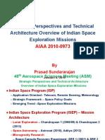 Indianspaceexplorationmissions Sundararajan 100904222009 Phpapp02