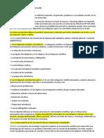Caracterisitcas de Los Proyectos Fencyt 2019