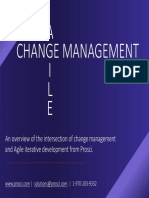 AGILE Change Management - PROSCI