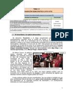 Tema 13 La transición en España