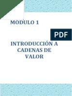 Cadena de Valor - Modulo 1