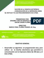 Diseño y Construcción de La Tarjeta Electrónica