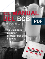 Manual de bar tgi fridays