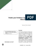 2003 Modelo Para Fortalecer Capacidades Basicas de Pyme