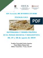 Programa Iustitia et iure 2019 UCA