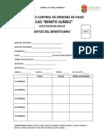 Credencial de Beneficiario Beca Benito Juarez
