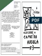 Algo Sobre capoeira Angola -  A Ginga