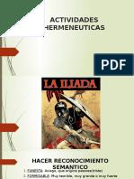 La Ilíada, La Odisea, y Edipo Rey Analisis Literario
