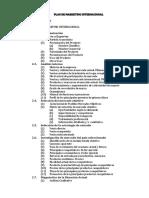 Plan de Marketing Internacional-estructura